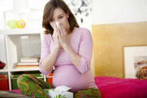 Время ингаляции во время беременности