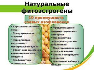 Растительный эстроген для женщин