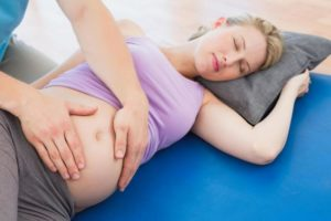 Режущие боли во время беременности