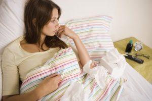 Беременной девушке приснились месячные