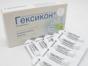 Свечи гексикон от молочницы