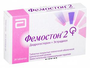 Таблетки с женскими гормонами