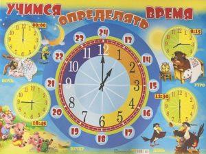Как научить ребенка узнавать время