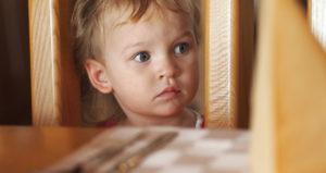 Как у ребенка определить испуг