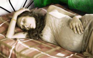 Бессонница на 7 месяце беременности