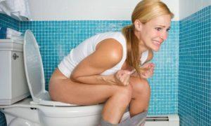После родов нет позывов в туалет по большому