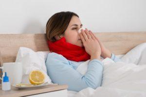 Как не заболеть беременной если в доме больной