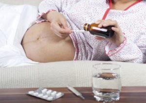 Простыла беременная что делать