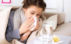 Как не заразиться от больного простудой при беременности
