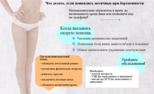 Месячные при беременности болезненные