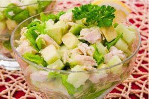 Салат для кормящих мам