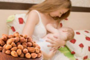 Можно ли есть арахис во время кормления грудью