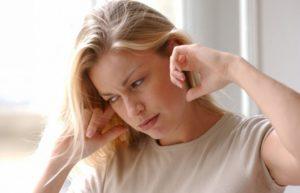 При беременности заложенность ушей