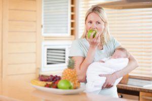 Что можно кушать после беременности