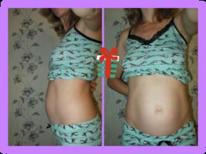Шевелится живот при беременности