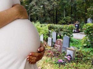 Можно ли беременным ходить на кладбище к родным