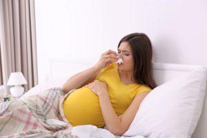 Как лечить простуду беременным на поздних сроках