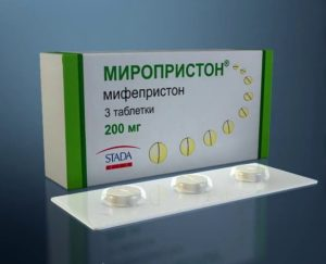 Миропристон для стимуляции родов через сколько действует