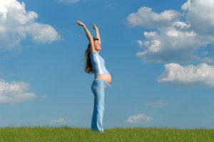 При беременности поднимать руки