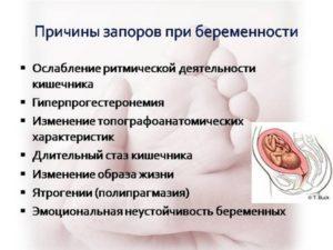 При беременности тужиться можно
