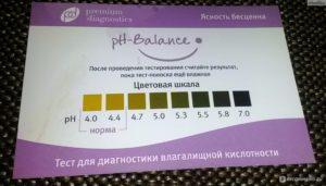 Ph баланс интимной зоны