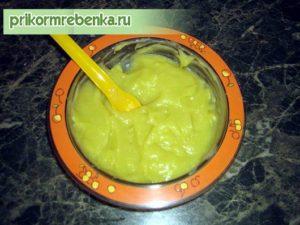 Как делать овощное пюре для ребенка 6 месяцев