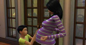Симс 3 беременность девочкой