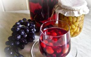 Можно ли пить компот из винограда кормящей маме
