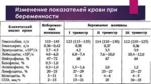 Анализы на 37 неделе беременности
