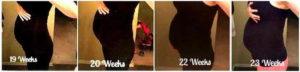 23 неделя беременности двойня