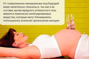 Можно ли пить при беременности газированную минеральную воду