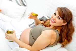 При беременности тянет на соленое