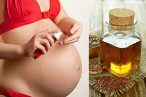 Масло льняное для зачатия