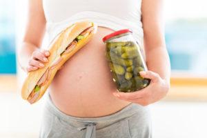 Тянет на соленое при беременности