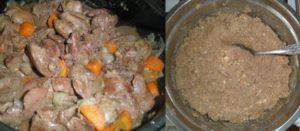 Как приготовить печень куриную грудничку