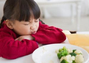 У годовалого ребенка пропал аппетит