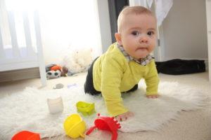 Ребенок пошел в 7 месяцев