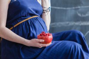 Гранат на ранних сроках беременности