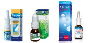 Какие капли для носа можно беременным при простуде