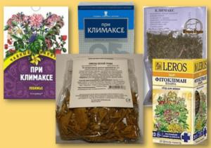 Климакс приливы лечение травами