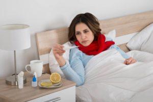 Могут ли месячные не пойти из за простуды