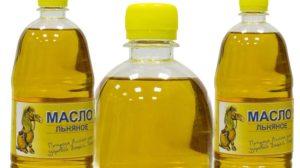 Льняное масло от растяжек