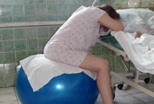 Во время родов клизма