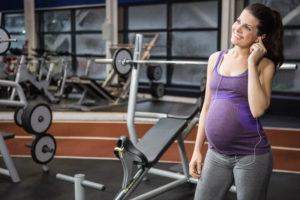 При беременности тренажерный зал