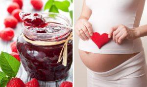 Малиновое варенье для беременных