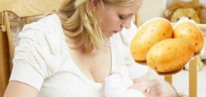 Можно ли картошку кормящей маме в первый месяц