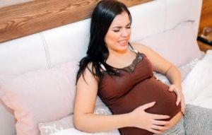37 неделя беременности болит живот