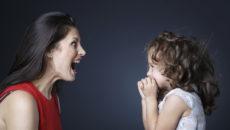 Я часто кричу на ребенка