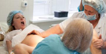 Что происходит с организмом женщины во время родов