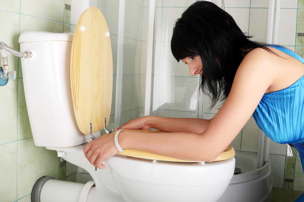 Сильно тужилась в туалете при беременности